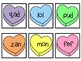 February Candy Heart Nonsense Word fluency Game