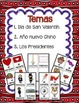 February Centers in Spanish