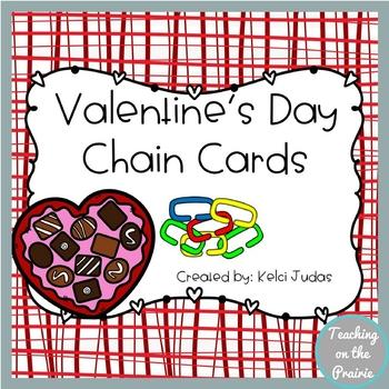Valentine's Day Chain Cards