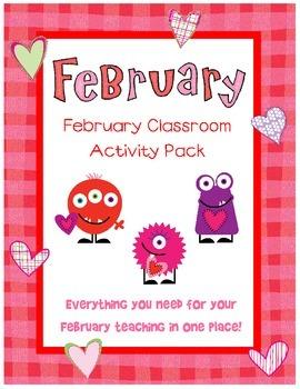 February Classroom Activity Pack