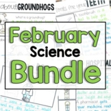 """February """"Click-and-Print"""" Science Bundle"""