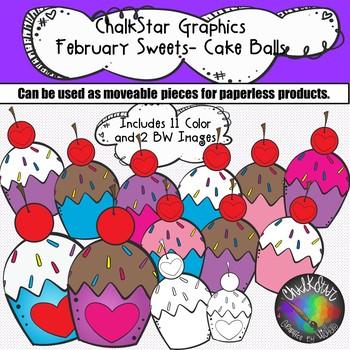 February Clip Art Bundle