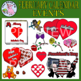 February Clipart - Celebrate Events