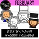 February Clipart {Creative Clips Clipart}