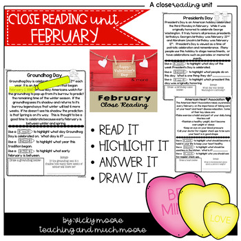 February Close Reading