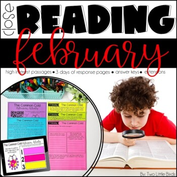 Close Reading Passages & Activities for February