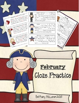 February Cloze Reading Practice