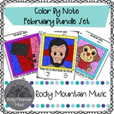 February Color by Note Bundle Set