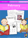 February Communication Folder and Homework