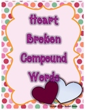 February Compound Word Activity/ Literacy Center for Valen