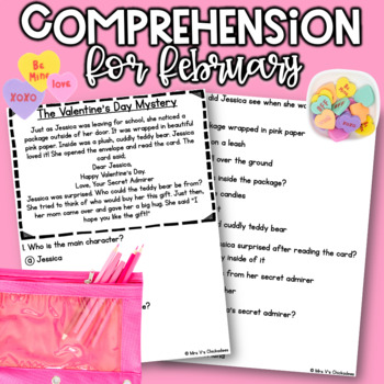 Reading Comprehension Passages & Questions: FEBRUARY EDITION