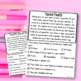 Kindergarten & First Grade Comprehension: FEBRUARY