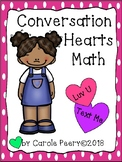Edible Conversation Hearts Math Bundle