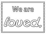 February Cooperative Learning Collaborative Art, Love Bulletin Board Kits Bundle