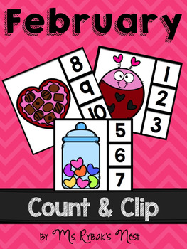 February Count and Clip