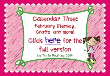 February Crafts and Literacy