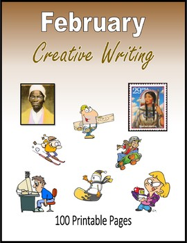 February Creative Writing (100 Pages)