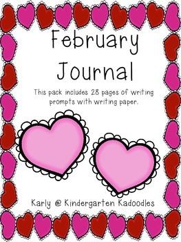 February Creative Writing Journal