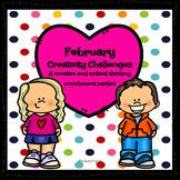 February Activities| Creativity Challenges| Enrichment, Ea