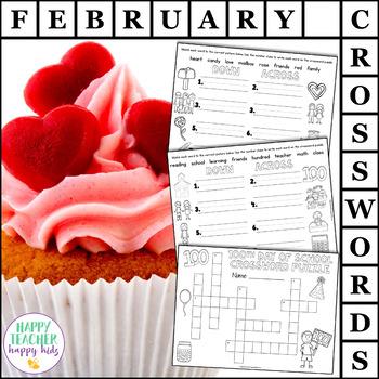 Crossword Puzzles - February
