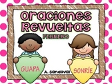 Oraciones revueltas Scrambled Sentences for FEBRUARY in Spanish