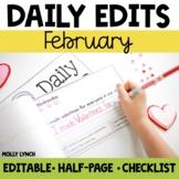 February Daily Edits