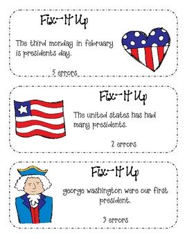 February Daily Fix-It Ups