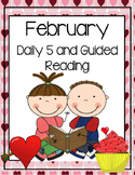February Daily Guided Reading Bundle (Reading and Writing Activities)