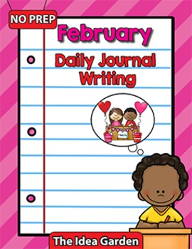 February Daily Journal Writing - NO PREP