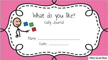 February Daily Journals