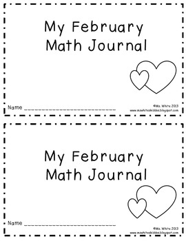 February Daily Math Journal: 2nd Grade Common Core