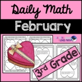 February Daily Math Review 3rd Grade Common Core