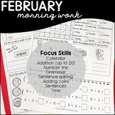 February Daily Skills Practice/ Morning Work