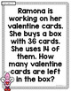 February Daily Word Problems {First Grade}