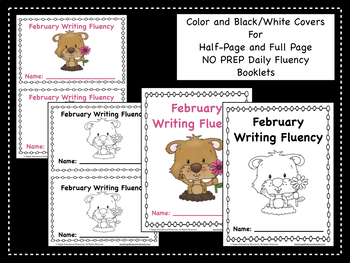 February Daily Writing Fluency Prompts - 29 Sentence Starters