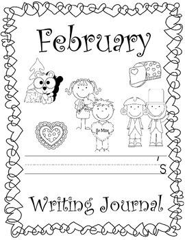 February Daily Writing Journal