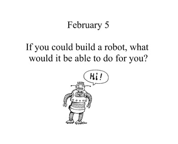 February Daily Writing Prompts