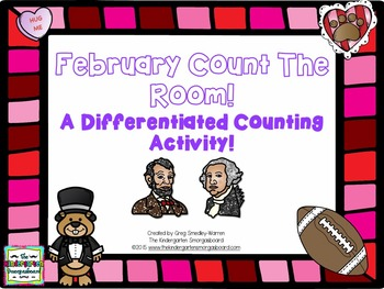 February Differentiated Count The Room Freebie!