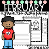 February Differentiated Writing Journal