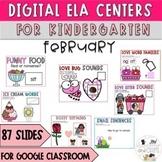 February Digital ELA Literacy Activities Kindergarten- Google