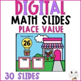 February Digital Math Slides - Place Value Tens and Ones V