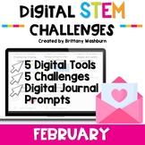February Digital STEM Challenges™