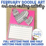 February Doodle Art