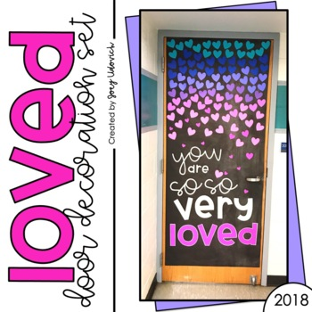 February Door Decoration Set