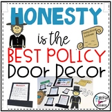 February Door Decor or Honest Abe Bulletin Board Abraham Lincoln