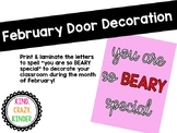 February Door Decoration