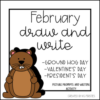February Draw and Write