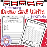 February Draw and Write Prompts