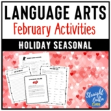 February Language Arts Activities