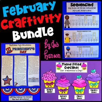 February Craftivities BUNDLE